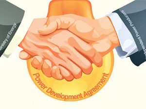 Power development agreements