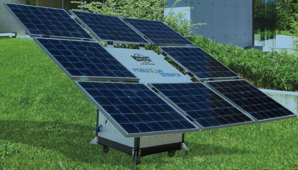 Solar power generator home use