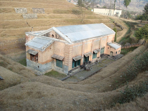 Renovated Pharping Hydropower Station located in 15 KM southern hills of Kathmandu Valley. Being century old station it's the historic power station in Nepal built in 1911 AD with the capacity of 500KV.