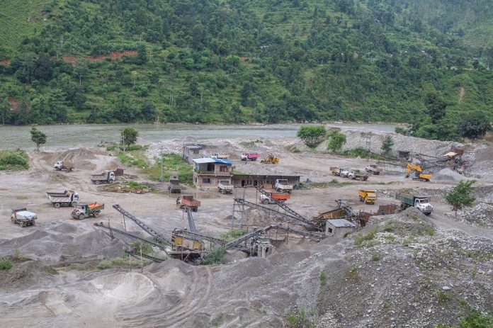 cut off power to 29 stone crushing factories